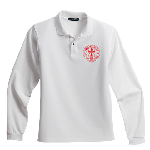 ICS - Youth Long Sleeve polo - Y500LS