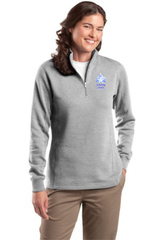 GS-Sport-Tek® Ladies 1/4-Zip Sweatshirt- LST253