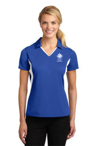 GS-Sport-Tek® Ladies Side Blocked Micropique Sport-Wick® Polo- LST655