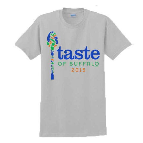 Taste- Official Taste of Buffalo Design- Cotton T-Shirt