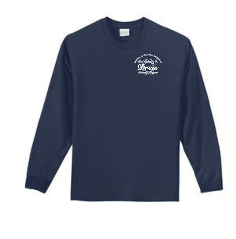 Drew- Port & Company® - Youth Long Sleeve Essential T-Shirt (PC61YLS)