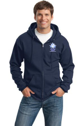 GS-Port & Company® - Classic Full-Zip Hooded Sweatshirt- PC78(y)zh