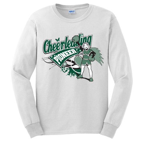 Pioneer - Cheer - Long Sleeve Tee - G2400(B)