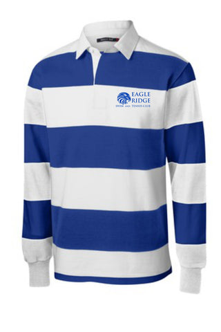EagleRidge- Sport-Tek® Long Sleeve Rugby Polo (ST300)