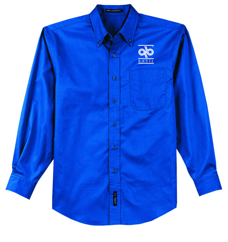Basil-Long Sleeve Easy Care Shirt- S608