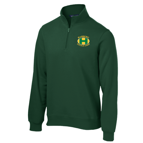 Hamburg LL - Adult 1/4 zip Sweatshirt (ST253)