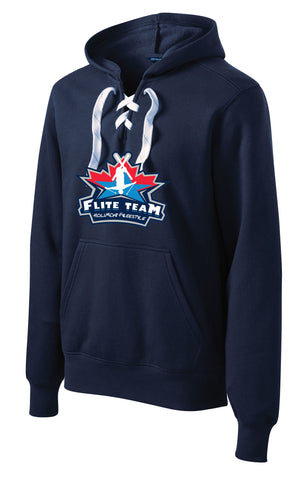 HFT-Sport-Tek® Lace Up Pullover Hooded Sweatshirt- ST271