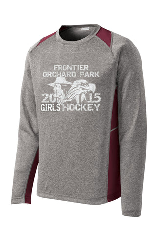 FOP-Dry Zone Long Sleeve Heather Colorblock Contender- ST361LS