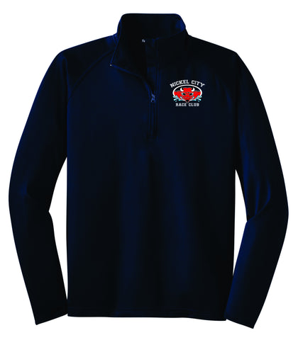 NCRC-1/2 Zip Stretch Pullover- ST850