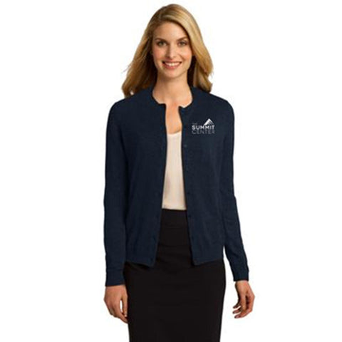 SUMMIT - Port Authority® Ladies Cardigan Sweater (LSW287)