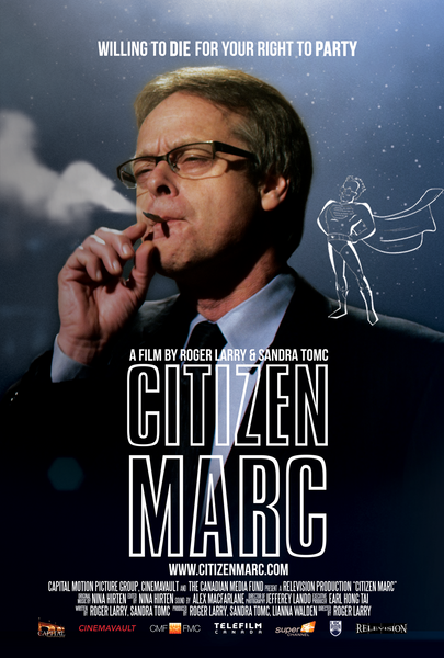 Citizen Marc full size movie poster