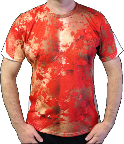 "Eddie the Sleepwalking Cannibal ""gore"" sport shirt"