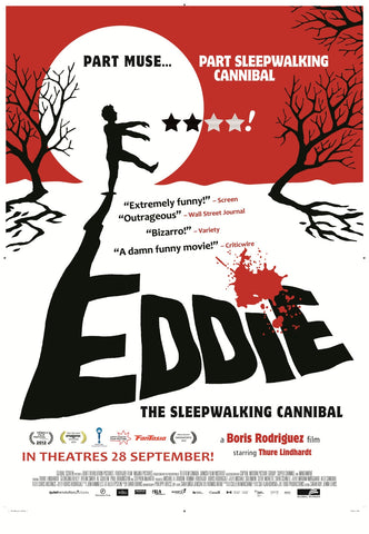 Eddie the Sleepwalking Cannibal movie poster