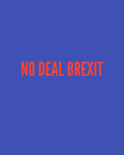 No Deal BREXIT - A Farce By The Masses