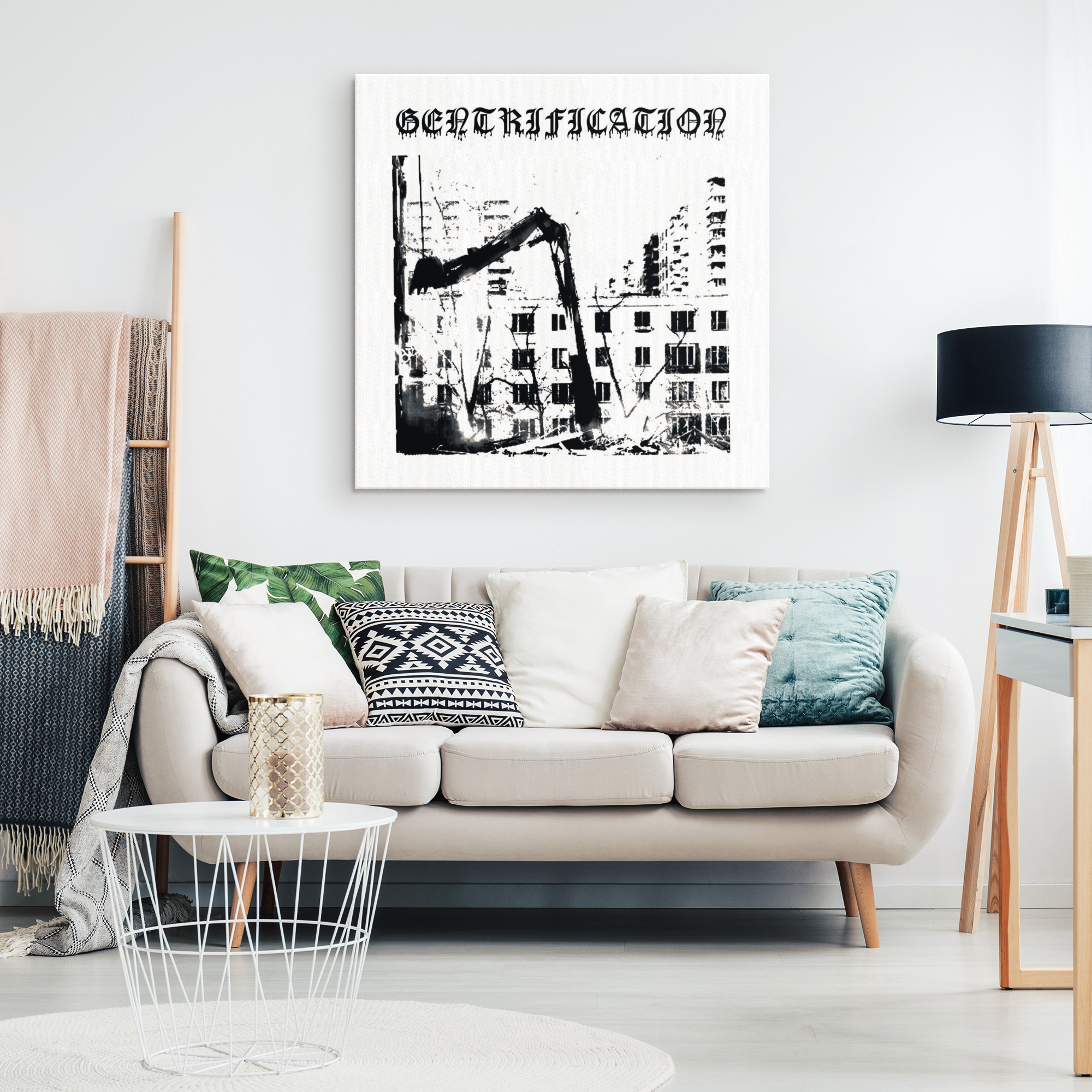 Gentrification Canvas Print