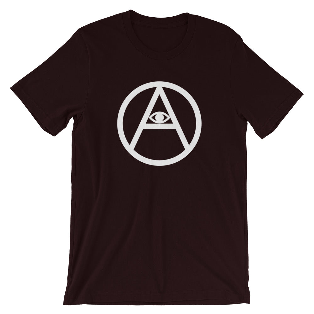 Eye of Anarchy T-Shirt | White Print