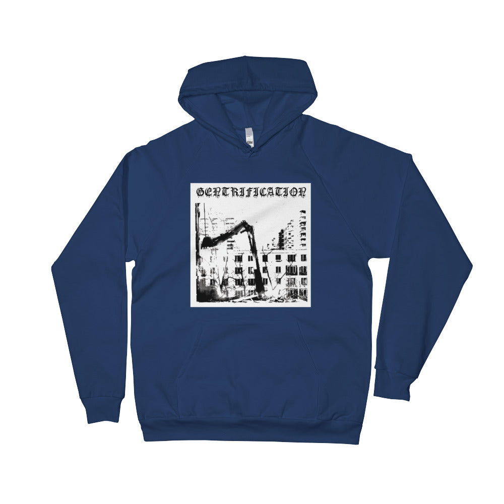 Gentrification Hooded Raglan Sweatshirt