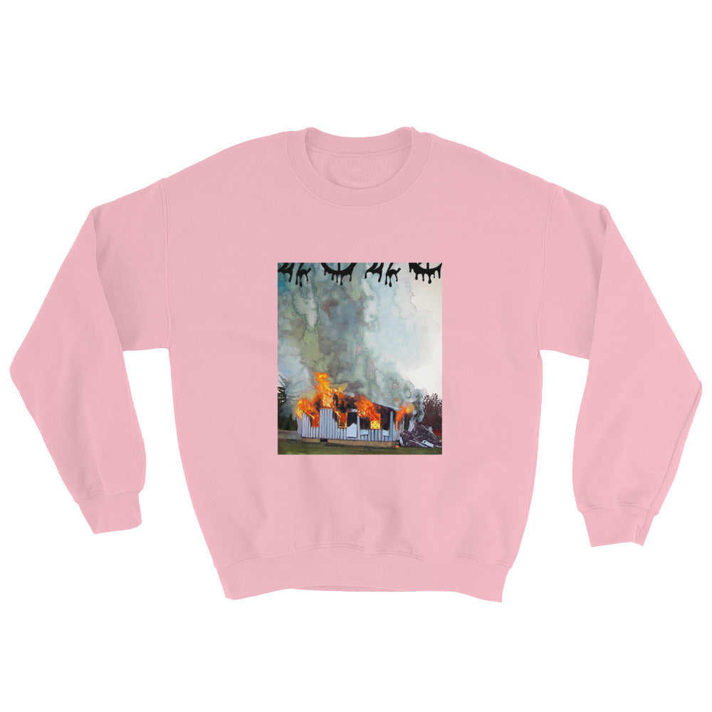 Burn the Double Wide Sweatshirt