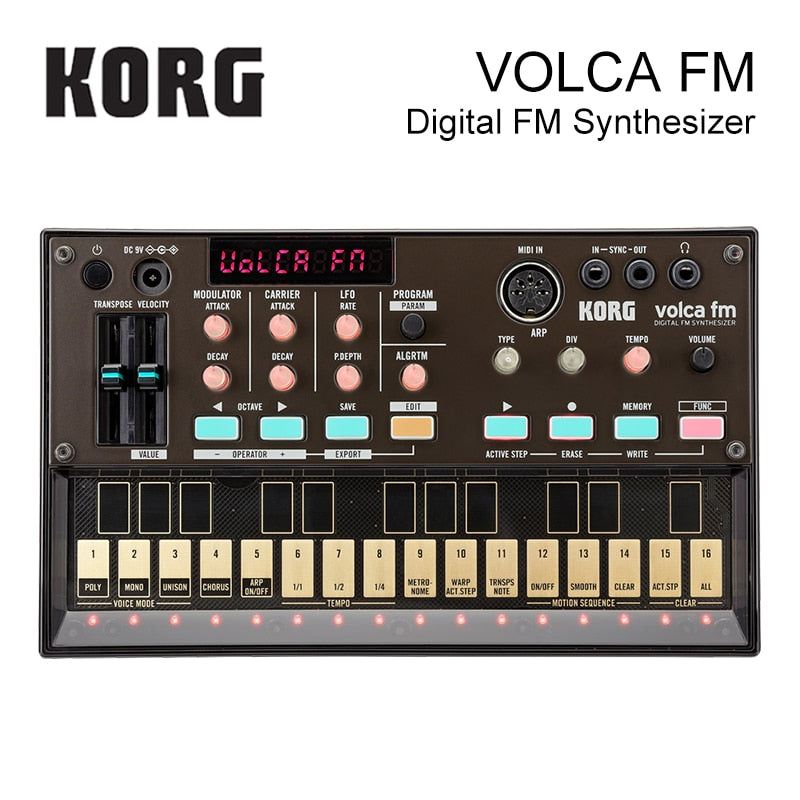 Korg Volca FM Polyphonic Digital Synthesizer