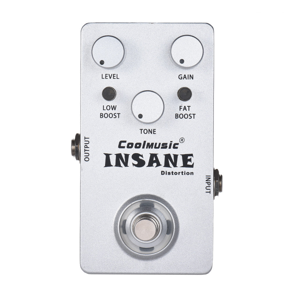Coolmusic Insane Distortion Pedal