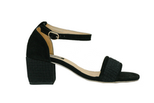 Load image into Gallery viewer, Habi Luxe: Ella Heels (Black)