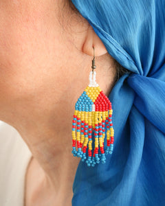 Habi Lifestyle Likha Beaded Earrings