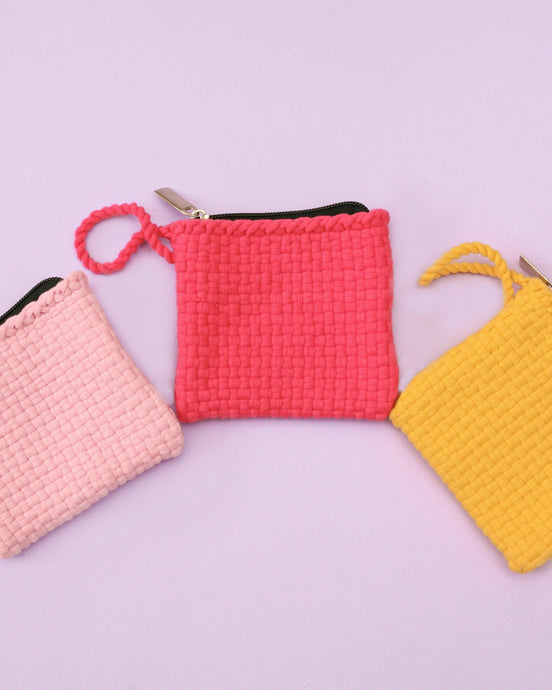 Habi Lifestyle Upcycled Handwoven Coin Purse