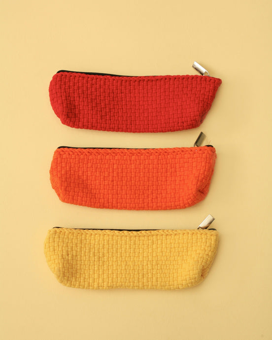 Habi Lifestyle Handwoven Sustainable Pencil Case