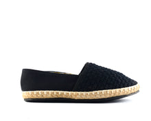 Load image into Gallery viewer, Women's Black Classic Espadrilles