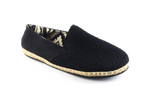 Load image into Gallery viewer, Men's Espadrilles: Black