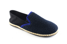 Load image into Gallery viewer, Dark Blue /Black Espadrilles