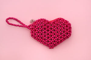 Limited Edition: Beaded Puso Pitaka Pouch (Medium)
