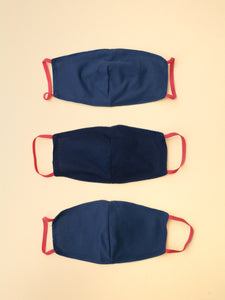 Zero-waste Two-Layer Reusable Mask Set - Assorted colors*