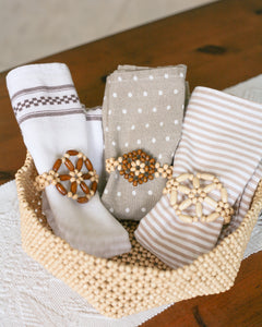 Napkin Ring Set (set of 4)