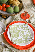 Load image into Gallery viewer, 6 Piece Woven Placemat and Coaster Set