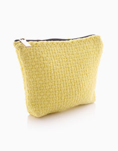 Habi Woven Cosmetic Pouch