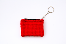 Load image into Gallery viewer, Woven Coin Purse - Keychain
