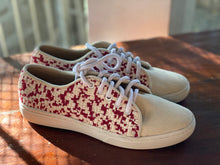 Load image into Gallery viewer, Women's Sneakers Red/Beige