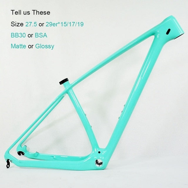 Carbon Bicycle Frame (different colors)