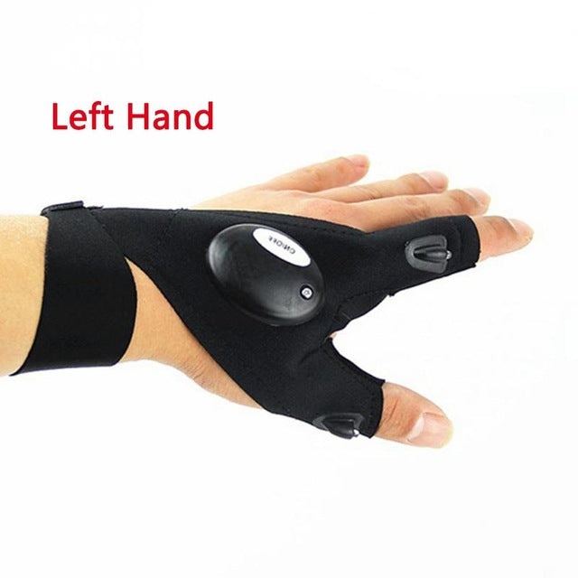Magic Strap Fingerless Glove