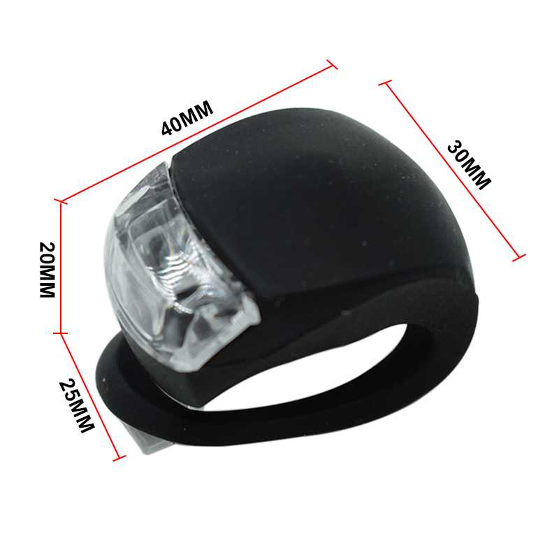 Bicycle Front Light Silicone LED HeadLamp
