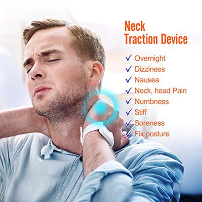Neck Cervical Traction Collar Device for Neck Shoulder Back