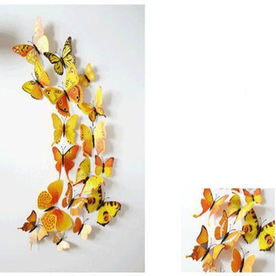 PVC Wall Stickers Magnet Butterflies Home Decor Poster