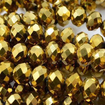 3*4mm 145pcs Rondelle Austria Faceted Crystal Glass Beads