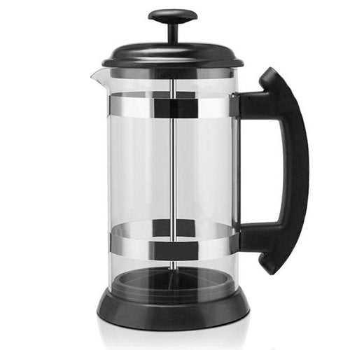 Coffee Maker Kettle 1000ML Stainless Steel Glass Thermos