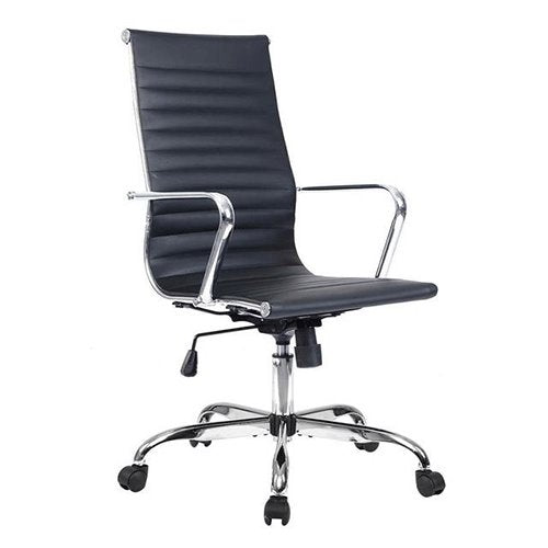 Leather High Back Office Executive Task Ergonomic Computer Chairs
