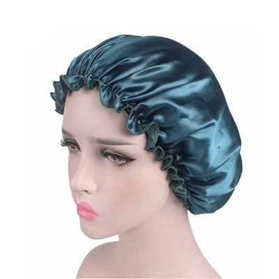 Satin Cap Bonnet Hair Care Caps