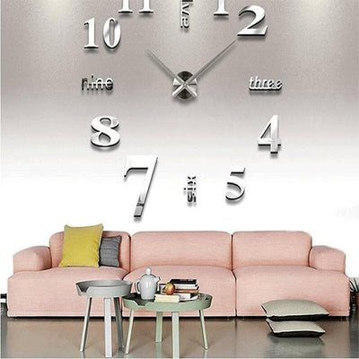 3d Watch Acrylic Mirror Stickers Quartz
