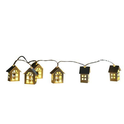 LED Garland House String Light 10pcs