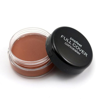 Round Full Cover Concealer Natural Makeup Facial Face BB Cream Foundation